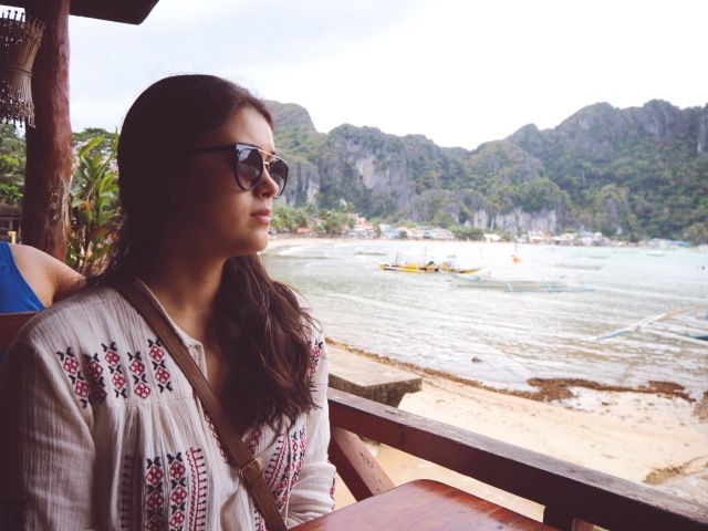 Lunch with a view at El Nido Corner